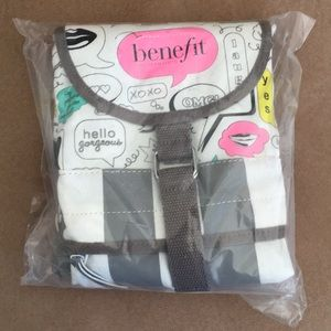 Benefit Cosmetics Thought Bubble Canvas Back Pack